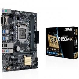 Asus MB B150M-K, LGA 1151, Intel B150