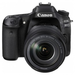 Canon EOS 80D EF-S 18-135mm