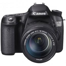 Canon EOS 70D + EF-S 18-135 STM (WIFI)