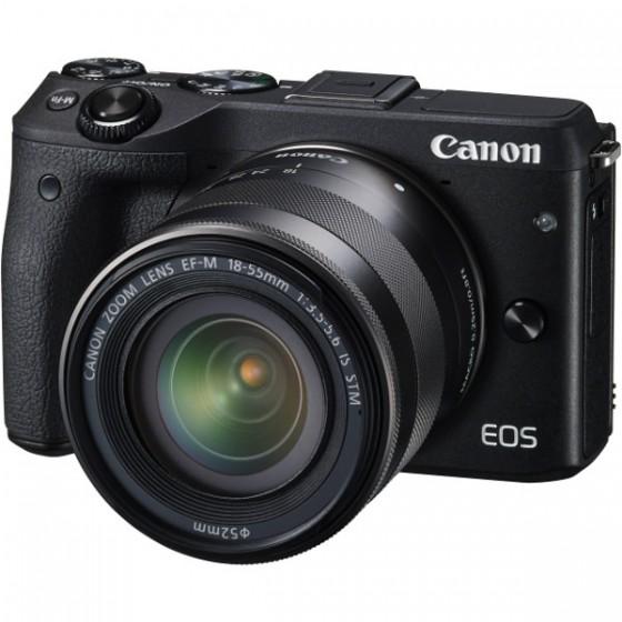 Canon EOS 3M Crni 18-55S