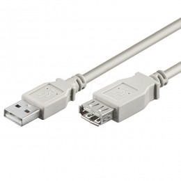 Digitus kabal USB produžni 0,3m AK669-03