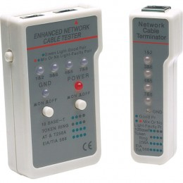 Intellinet Cable tester RJ45/RJ11, 351898