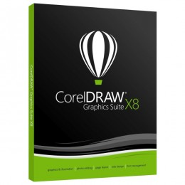 CorelDRAW Graphics Suite X8 , Win, IE, licenca trajna