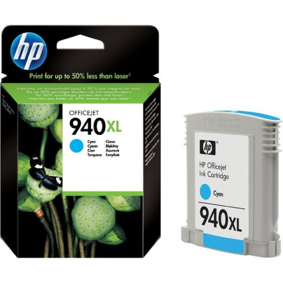 HP Tinta C4907AE (No.940XL) Cyan