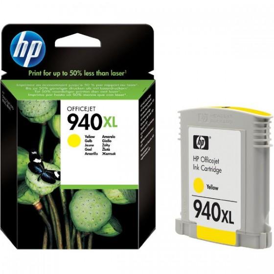 HP Tinta C4909AE (No.940XL) Yellow