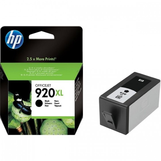 HP Tinta CD975AE (No.920XL) Black