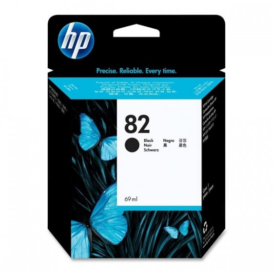 HP Tinta CH565A (no.82) Black