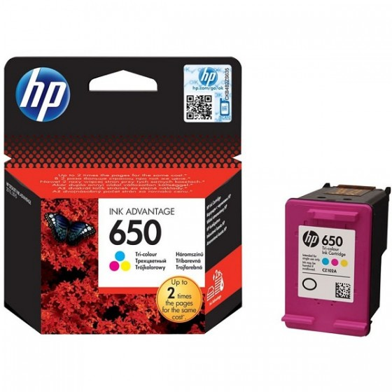HP Tinta CZ102AE (No.650) Color