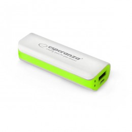 Esperanza power bank EMP103WG 2200mAh bijelo/zeleni
