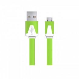 Esperanza Micro USB kabl 1,8m zeleni