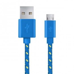 Esperanza Micro USB kabl 1m EB175BY plavi
