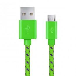 Esperanza Micro USB kabl 1m EB175GP zeleni