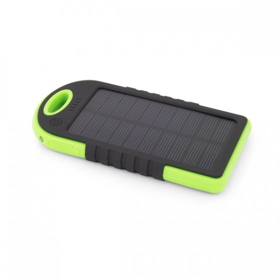 Esperanza power bank solarni 5200mAh EMP109KG crno/zeleni