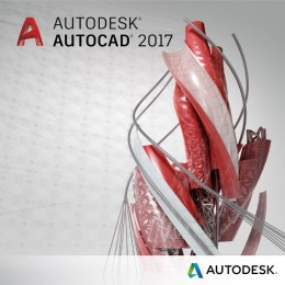 Autodesk AutoCAD 2017 Commercial New Single-user 1 godina