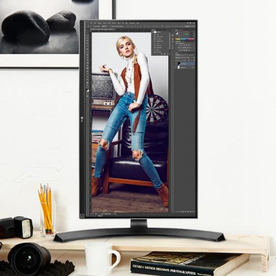 LG 27UD68P-B 27 Ultra HD 4K IPS LED Monitor