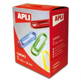 Spajalice u boji 32 mm APLI 100/1
