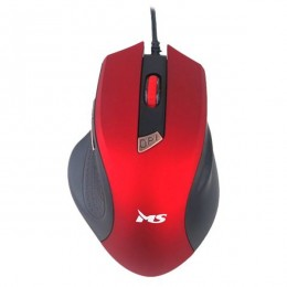 MS miš WAVE 2 crveni USB