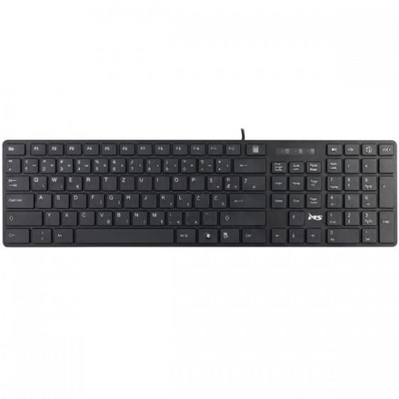 MS tastatura DOMINO USB crna