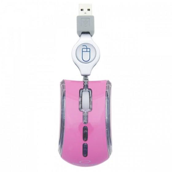 Esperanza miš mini EM109P pink