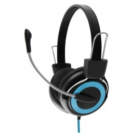 Esperanza slušalice s mikrofonom Falcon EH152B plave