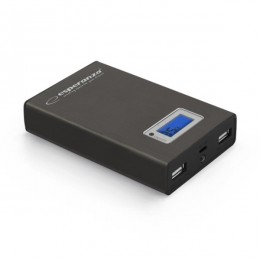 Esperanza power bank KINETIC 8400mAh EMP108K crni