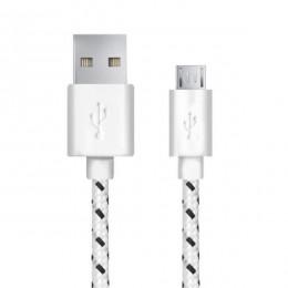 Esperanza Micro USB kabl 1m EB175WB bijeli/plavi