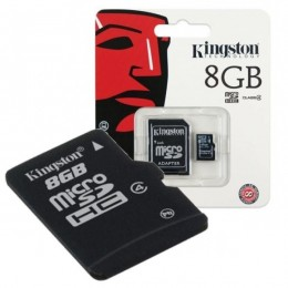 Kingston MC MicroSD 8GB, SDC4/8GB