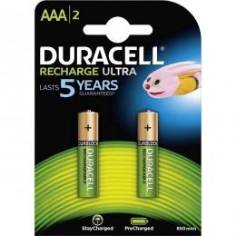 Duracell baterija punjiva 850mAh AAA 2 kom