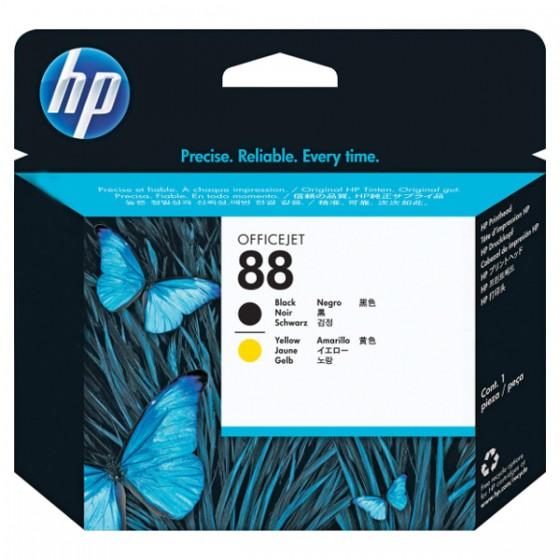 HP Printhead C9381A (No.88) Black & Yellow