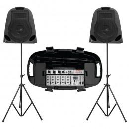 SoundKing razglas set mikseta + 2 zvučnika 300W, ZH0402D10P-1