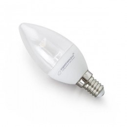 Esperanza štedna sijalica LED C37 LENS E14 5W ELL121