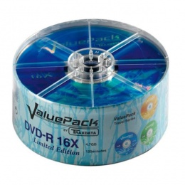 Traxdata DVD-R SP25 VALUEPACK 16X