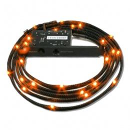 NZXT Sleeved LED Kit 1m oranž