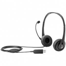 HP USB Stereo Headset, T1A67AA