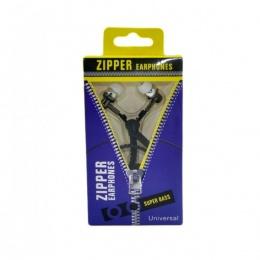 Platoon slušalice zipper 3,5mm crne