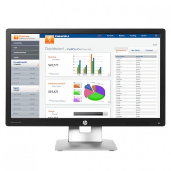 HP eliteDisplay E222 monitor, M1N96AA