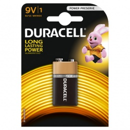 Duracell baterija BSC 9V