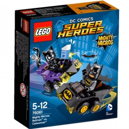 LEGO Mighty Micros: Batman i Žena mačka 76061