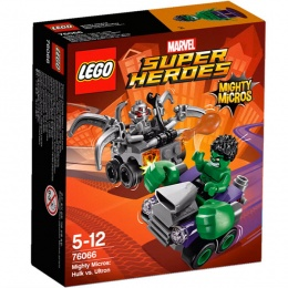 LEGO Mighty Micros: Hulk i Ultron 76066