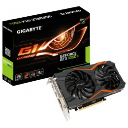 Gigabyte nVidia GeForce GTX 1050TOC G1 Gaming 4GB DDR5