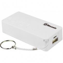 MSONIC Power Bank 5000mAh MY2580W bijeli
