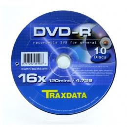 Traxdata DVD-R 10/1 u kutiji 16x, 4,7GB