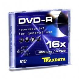 Traxdata DVD-R SLIM BOX 1/1