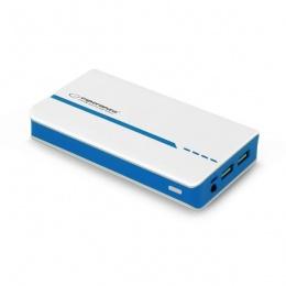 Esperanza power bank 11000mAh EMP107WB bijelo/plavi