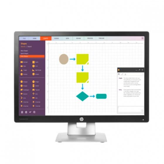 HP EliteDisplay E242 24 LED IPS Monitor
