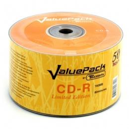 Traxdata CD-R 80 min 52X spindle 50 ValuePack