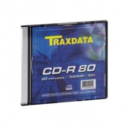Traxdata CD-R 1/1 u kutiji, 52X, 700MB