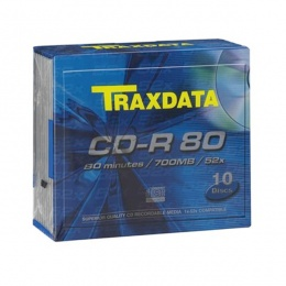 Traxdata CD-R SLIM BOX 10 KOM
