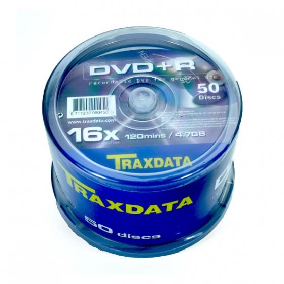 Traxdata DVD+R 50/1, 16X, 4,7GB