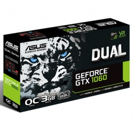 Asus DUAL nVidia GeForce GTX 1060 3GB DDR5